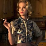 January Jones and her cigarettes star in Mad Men.