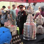 Conn Smythe Trophy, Stanley Cup,  and Clarence S. Campbell Bowl.